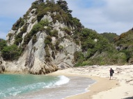 Unterwegs im Nationalpark (Abel Tasman)