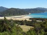 Scenery in Abel Tasman NP