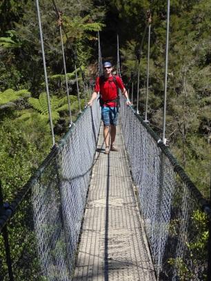 Theo in Abel Tasman NP