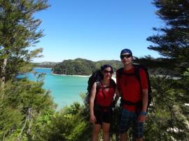 Auf dem Abel Tasman Coast Track