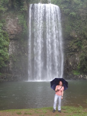 Waterfall: nice. Weather: less so.