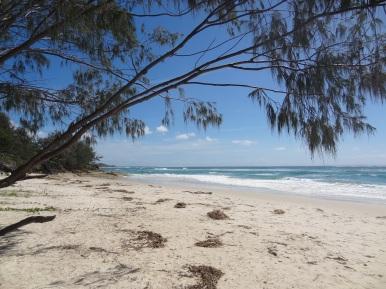 Cylinder Beach on Straddie Island (on a nice day)
