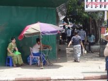 Burmese phone booth