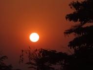 Sunset over Kinpun