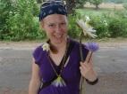 Lotus flower girl