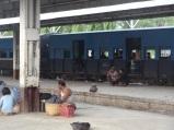 Train station in Thazi