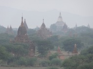 Bagan in the morning mist