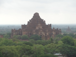 The biggest temple in Bagan (Dhamma-Yan-Gyi Paya)