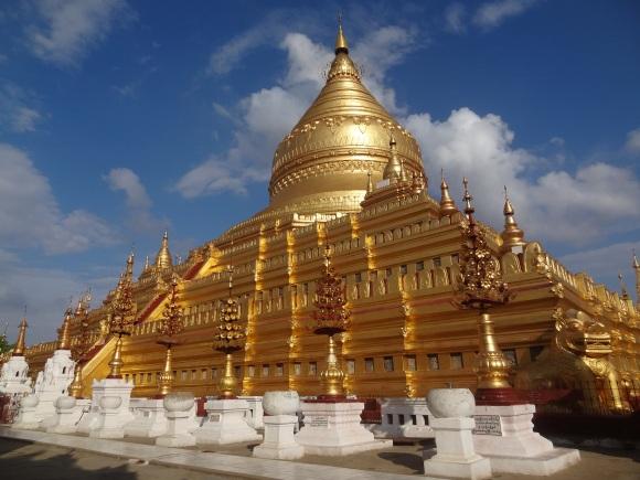 Shwe-Zi-Gon Paya in Nyaung-U (bei Bagan)