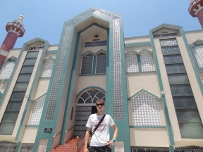 The biggest mosque in Mandalay