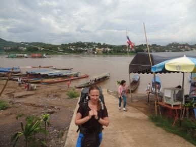Vor der laotischen Grenze am Mekong
