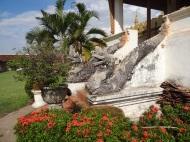 Naga vor dem Pha That Luang