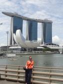 "Das berühmte ""Schiff"" (Marina Bay Sands)"