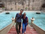 Im Wasserschloss (Taman Sari)