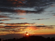 Sonnenaufgang beim Gunung Bromo