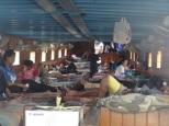 Das Hausboot auf dem Mahakam