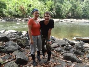 Vor dem Abmarsch in den Dschungel