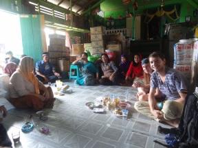 Idul Fitri bei Familie im Dschungel