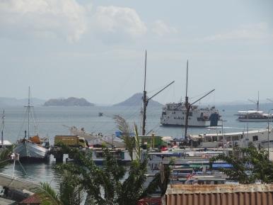 Unsere Fähre in der Bucht von Labuan Bajo