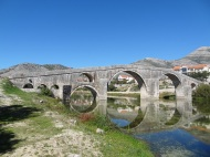 The old bridge in Trebinje