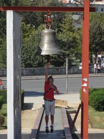 Peace bell (in Tirana)