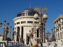 Disneyland? Nein Skopje