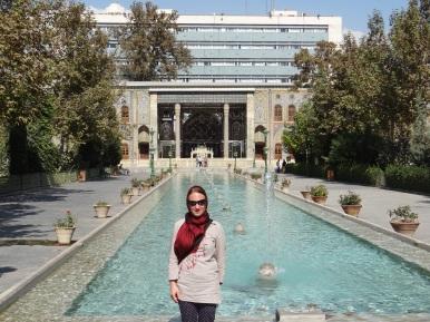 Golestan palace in Tehran (Qajar period)
