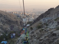 View on the city of Tehran