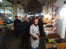 In the Basar in Tabriz