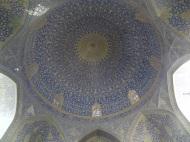 Die Kuppel der Shah Moschee