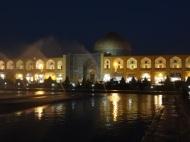 Imam Platz bei Nacht