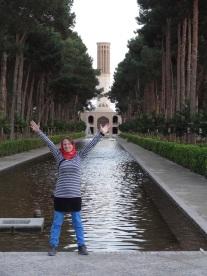 Persischer Garten in Yazd
