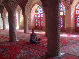 In der Nasir-al-Molk Moschee