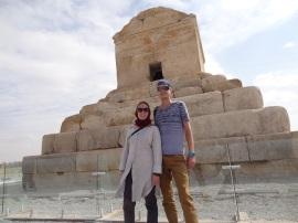 Das Grabmahl von Cyrus