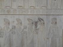 Steinreliefs in Persepolis