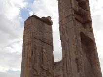 Überreste von Xerxes Palast