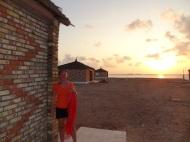 Unser Bungalow auf der Insel