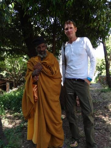 Ein äthiopisch orthodoxer Mönch