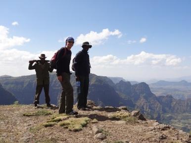 Theo mit unserem Guide und Scout