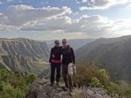 Schöne Aussicht im ersten Camp in den Simien