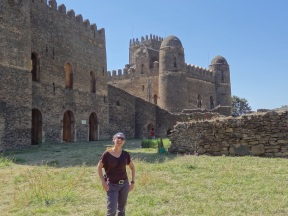 Paläste in Gonder