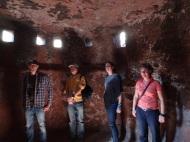 In den Felsgrotten von Lalibela