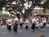 Christmas parade in Hawaii