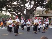 Christmas parade in Hawaii