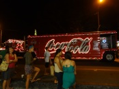 Christmas in the US is not complete without the Coca-Cola truck