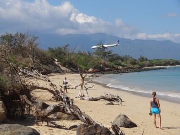 Welcher Strand ist denn nun unser Liebelingsstrand? Ein schöner Ort um Flugzeuge zu beobachten.