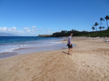 Der Sand ist so fein, dass die Liegestühle gar nicht nötig sind.