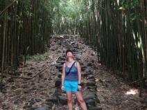 Friedlicher Bambuswald
