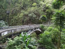Über unzählige Brücken sind wir gefahren...