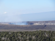 Halema'uma'u Krater bei Tag